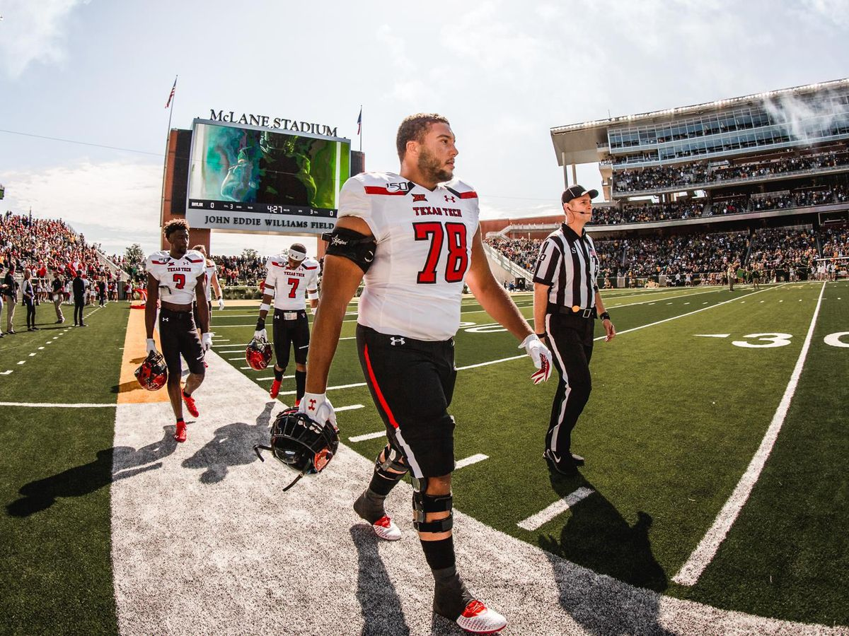 Steele, other Red Raiders make first NFL roster