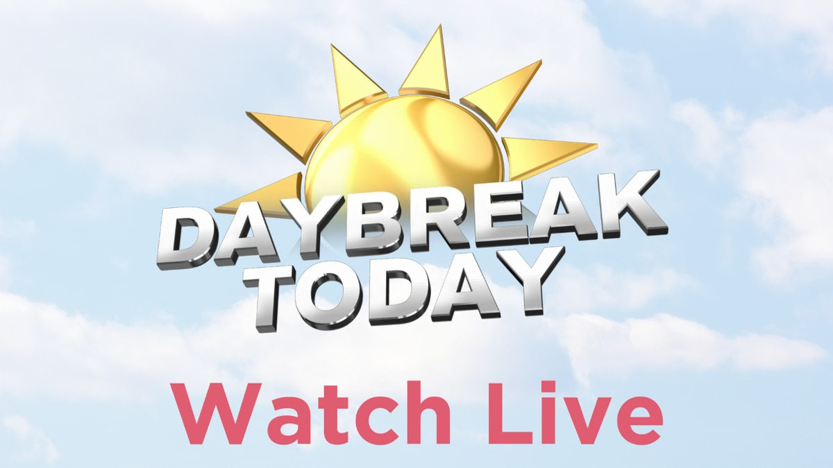 Daybreak Today Monday Morning Brief