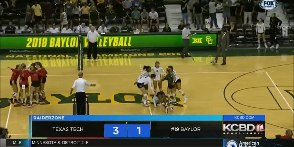 Texas Tech volleyball upsets Baylor