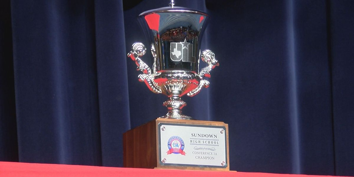 Sundown celebrates 2A UIL Lonestar Cup