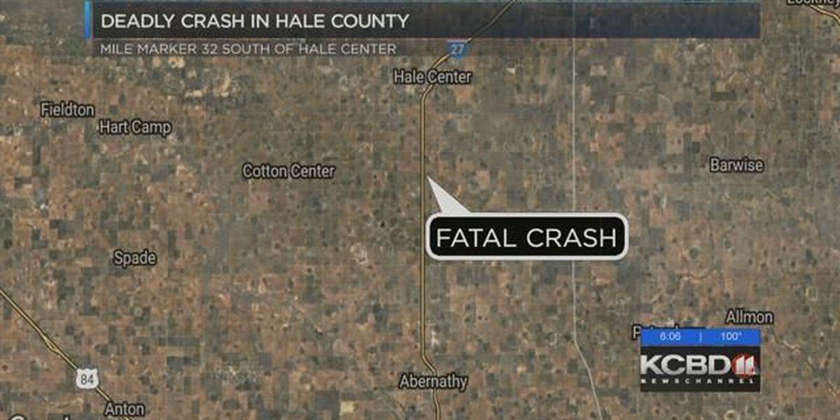 Amarillo man killed in Hale County accident