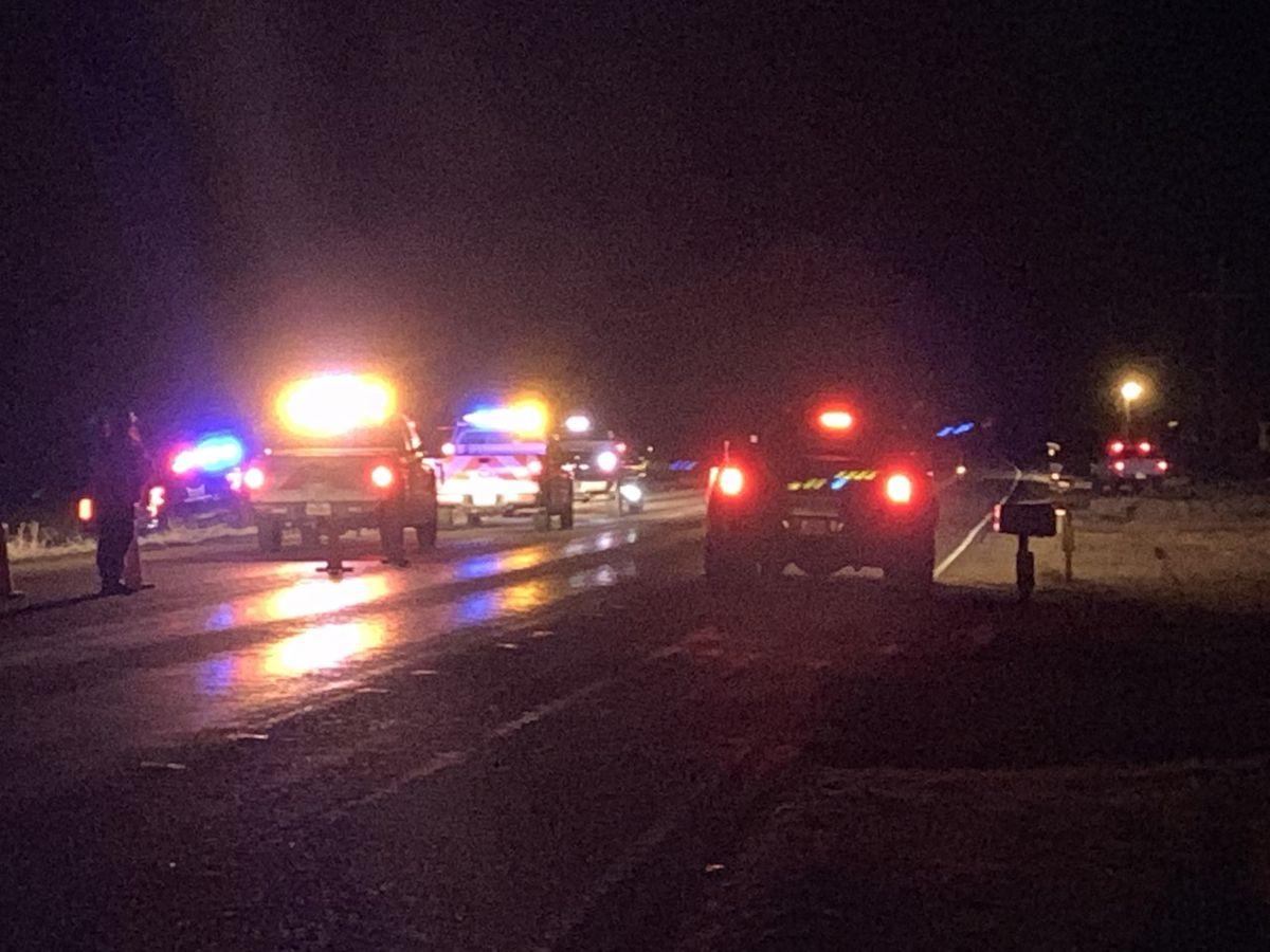 Pedestrian hit by vehicle near Smyer