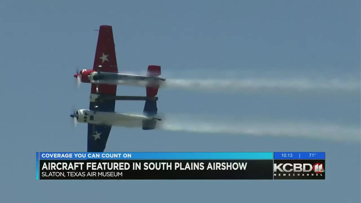 Aircraft featured in South Plains Air Show