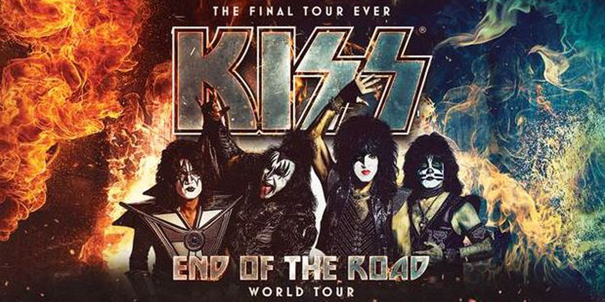 KISS to make End of the Road Tour stop March 10