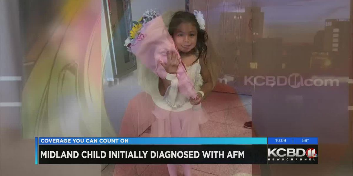 Midland girl first diagnosed with AFM, actually with ADEM