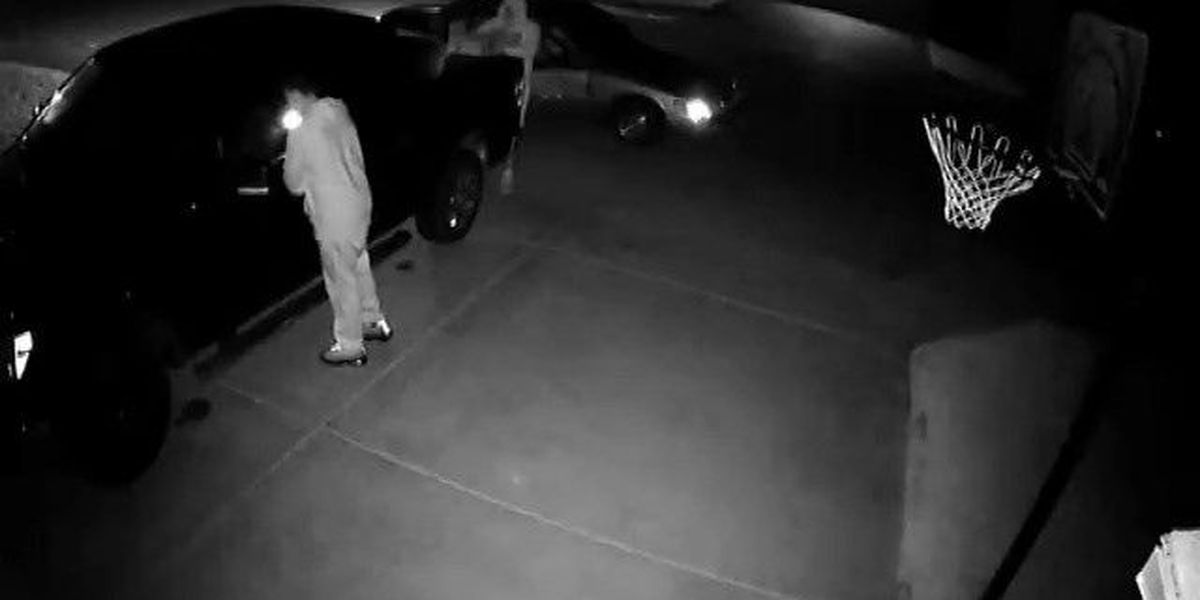 Lubbock police searching for suspects in vehicle burglary, 9800 block of Iola