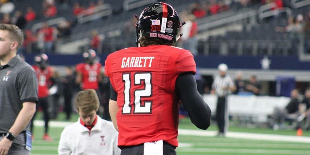 Former Roosevelt Eagle Colt Garrett announces his intentions to transfer from Texas Tech