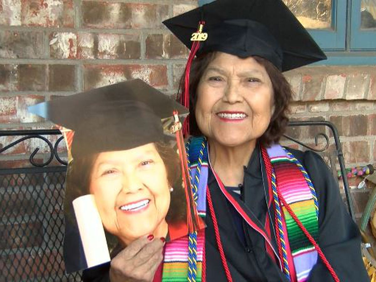Life lessons from Texas Tech's oldest graduate