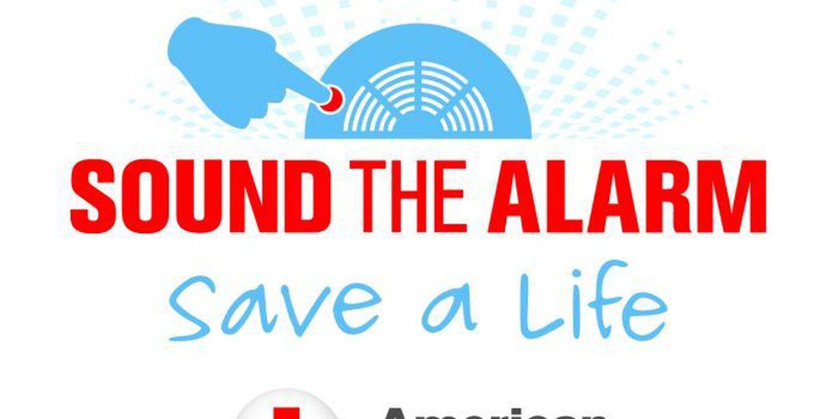 Red Cross seeking donations to help install 100 smoke alarms