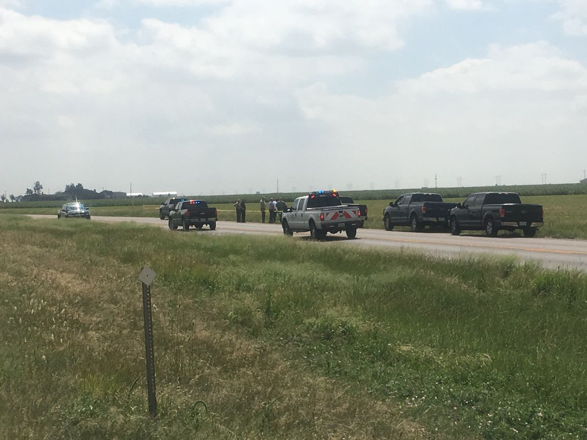 Body found on I-27 north of Abernathy