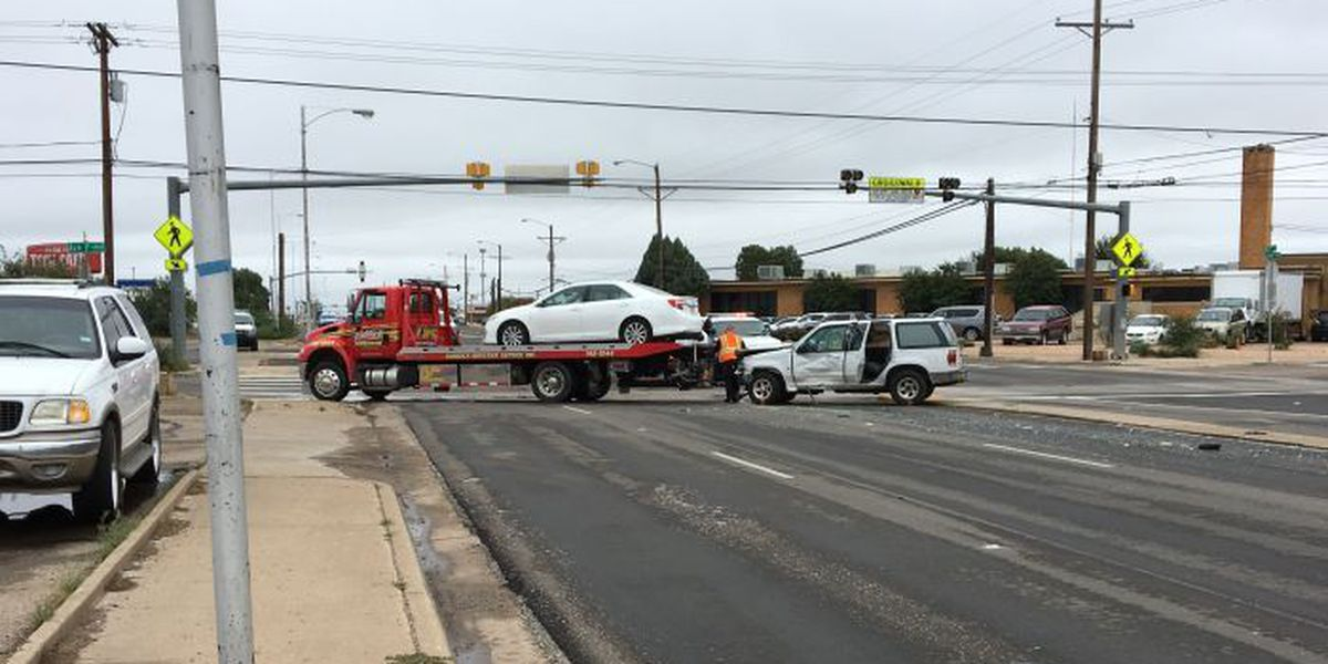 Police: Woman caught 'doing donuts' on Texas Ave. crashes during police pursuit