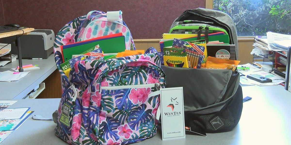 Pay It Forward: School supplies donation for Lubbock's Vandelia Church of Christ