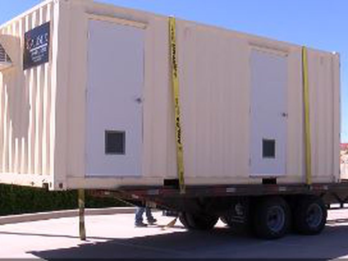 Medical Assessment Pod rolls into Lubbock - Designed to combat spread of COVID-19