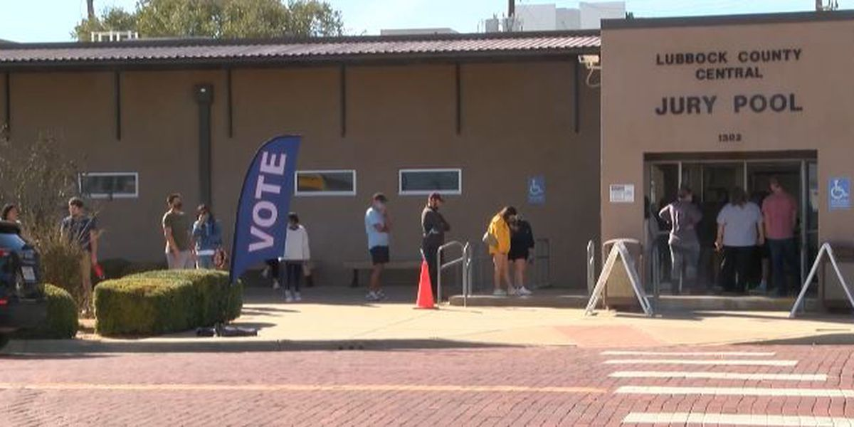 Early voting in Lubbock County exceeds entire vote cast in 2016
