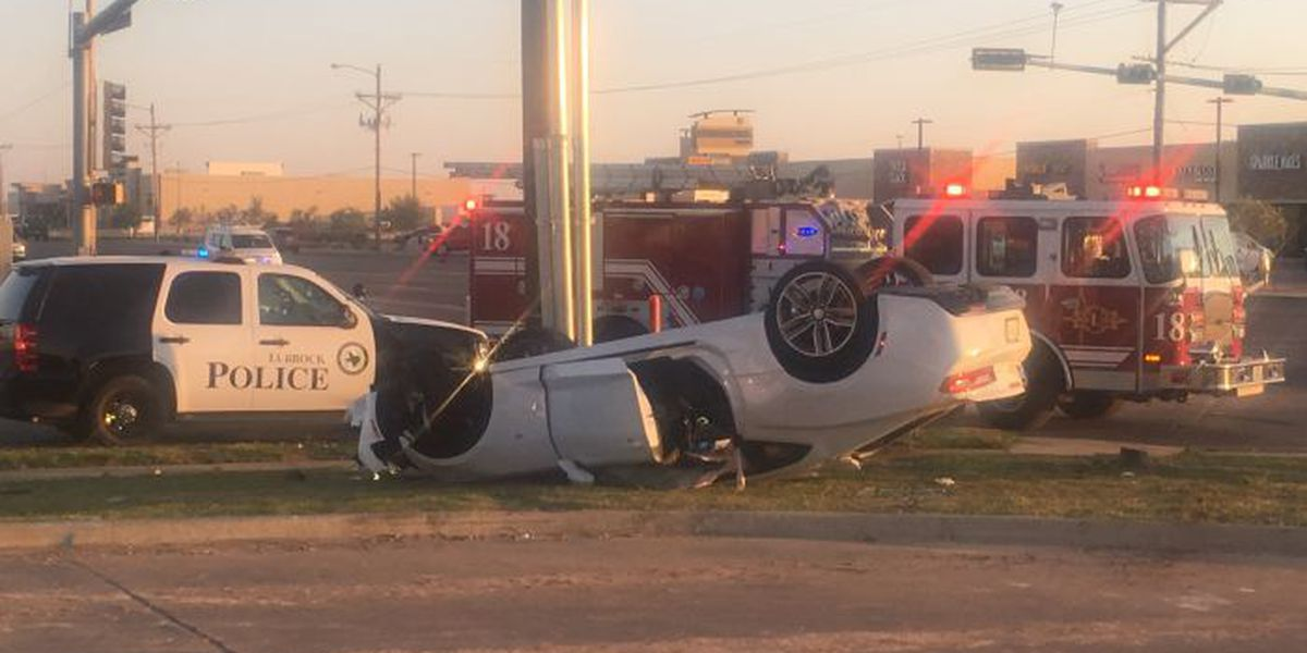 Police on scene of rollover at 66th & Milwaukee
