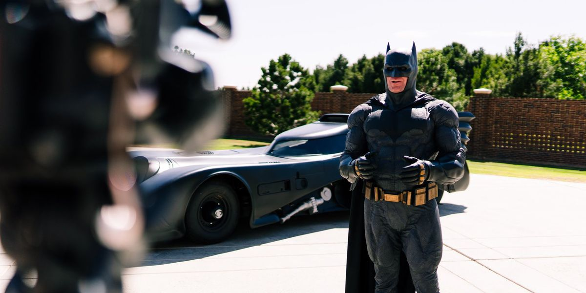 Lubbock Batman on a mission to put smiles on the faces of kids in need