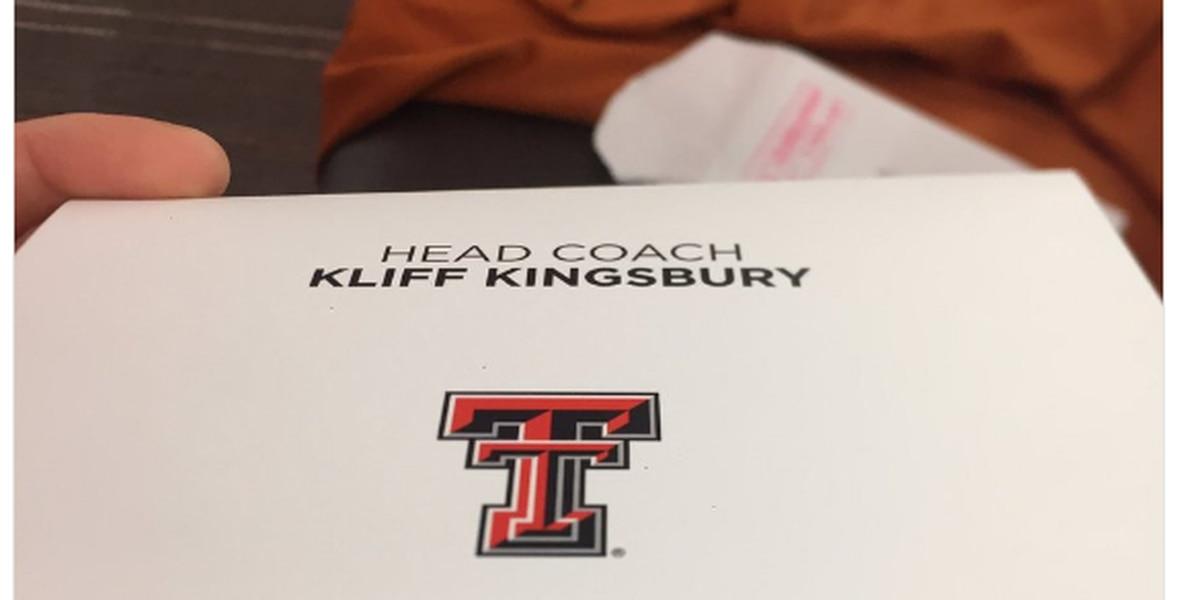 Kingsbury pens letter to UT kicker