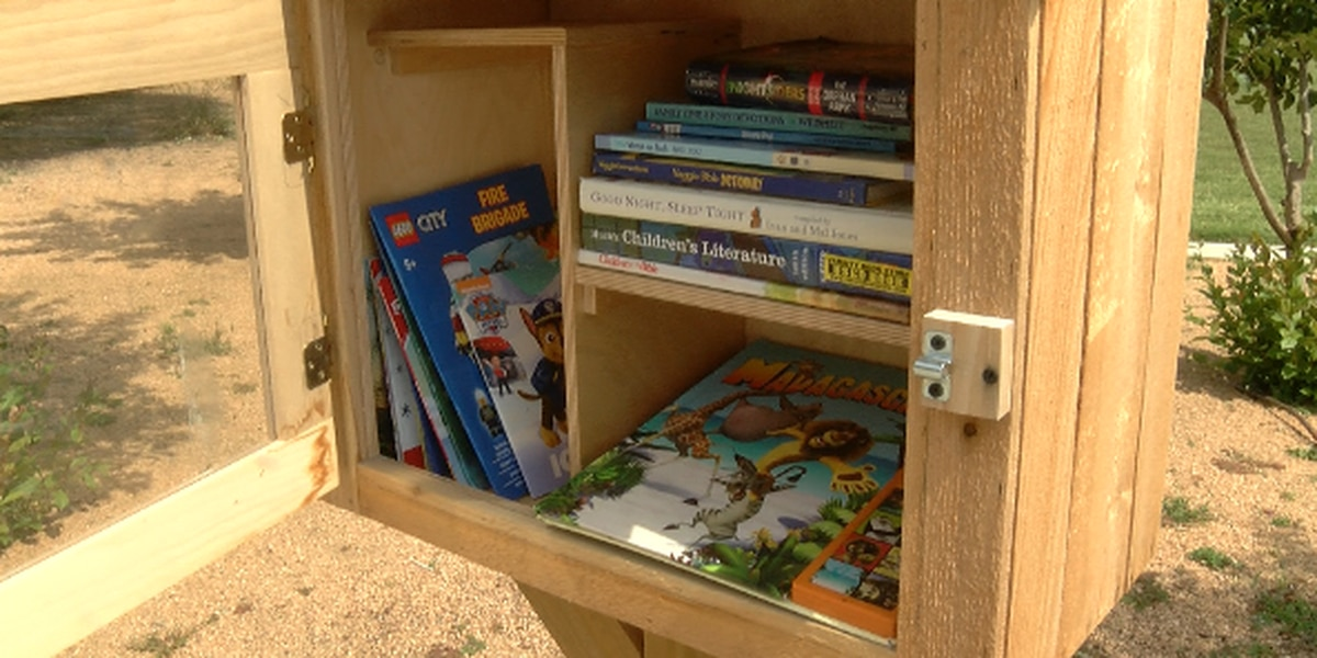 More Little Free Libraries on their way to Lubbock ISD schools
