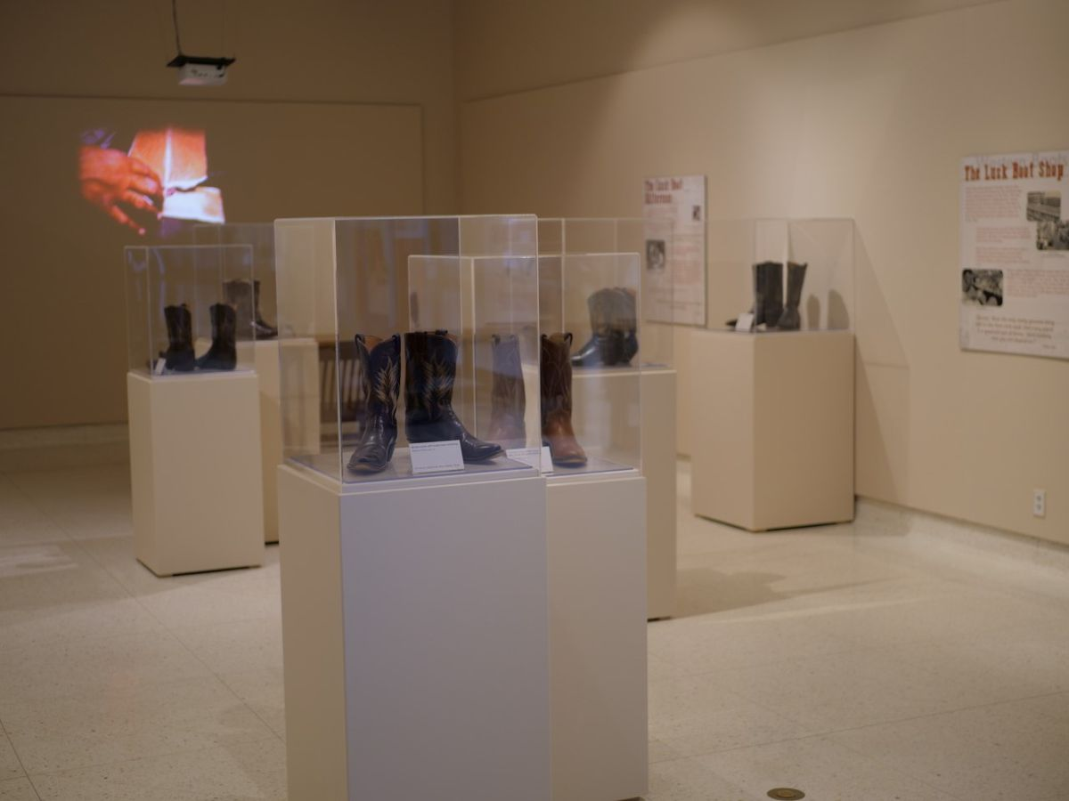 Exhibit featuring Lubbock Boot Makers opens at the Museum of Texas Tech University
