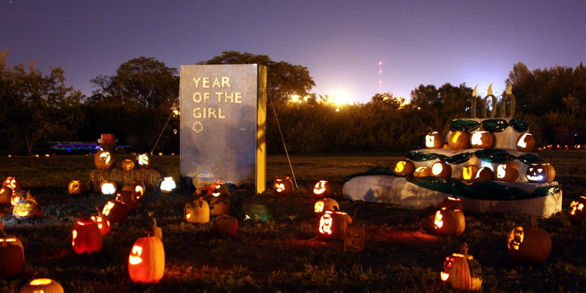 Pumpkins on display at city's Pumpkin Trail from Thursday to Sunday