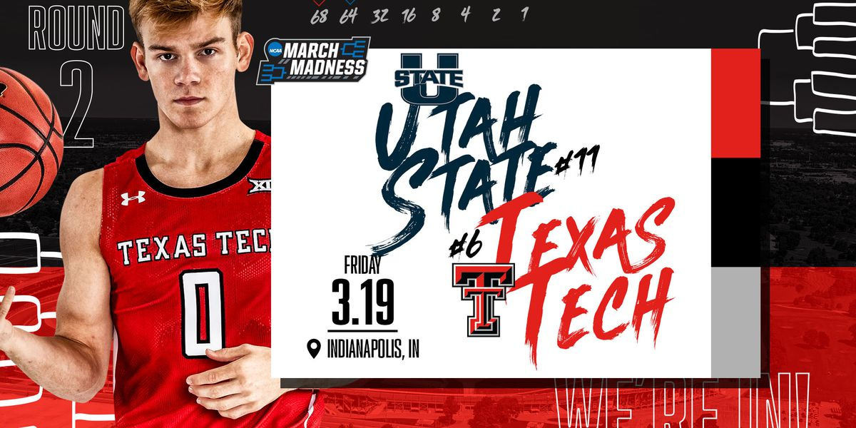 Tech men selected No. 6 seed, facing 11-seed Utah State on Friday