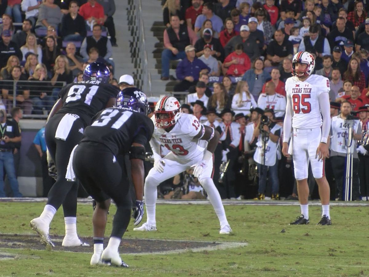 Red Raider Punter Dominic Panazzolo earns Big 12 honor