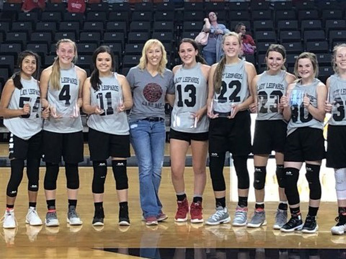 New Home JH Girls win Little Dribblers National Championship