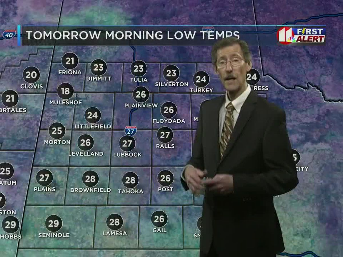 Freezing fog and winter's chill return Friday morning
