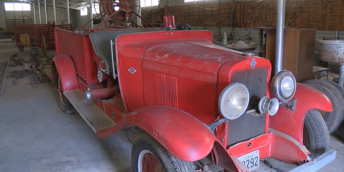 Dimmitt Volunteer Fire Department revamping old truck for new use