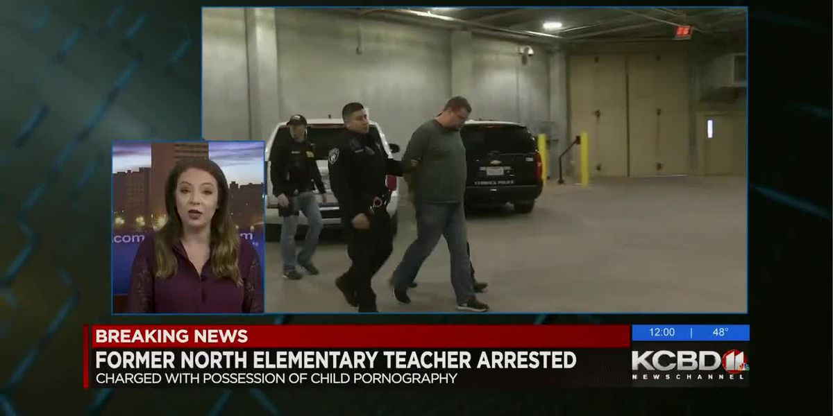 Former elementary school teacher arrested on child pornography charges