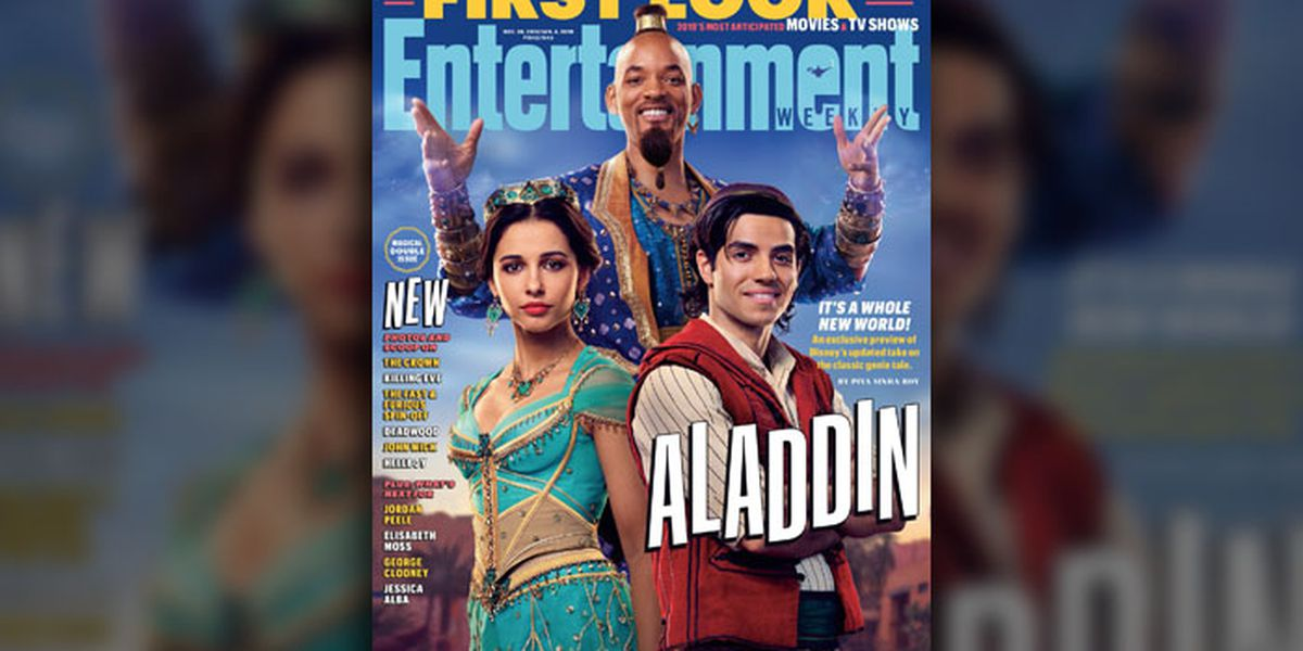 Don't worry, Will Smith will be a blue genie in 'Aladdin,' the latest Disney live action movie remake