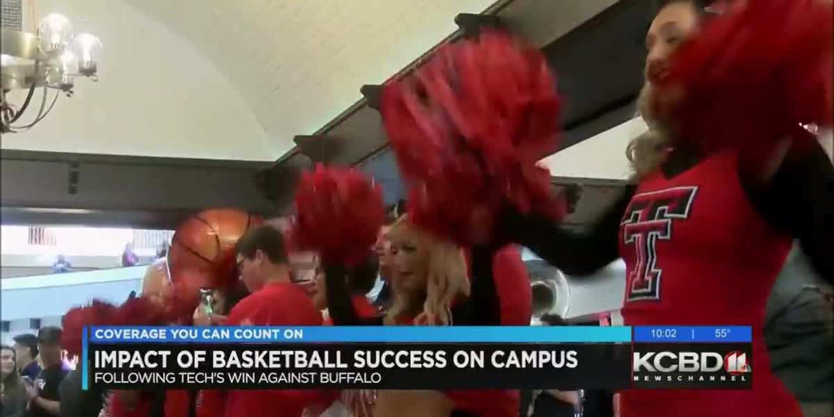 Tech fans celebrate Red Raider tournament wins