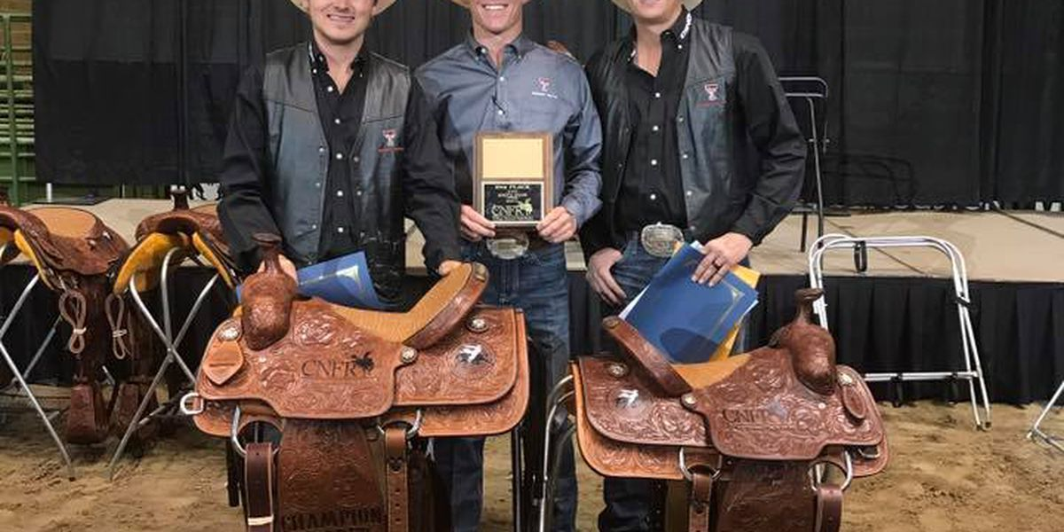 Texas Tech duo takes Team Roping Title at College National Finals Rodeo