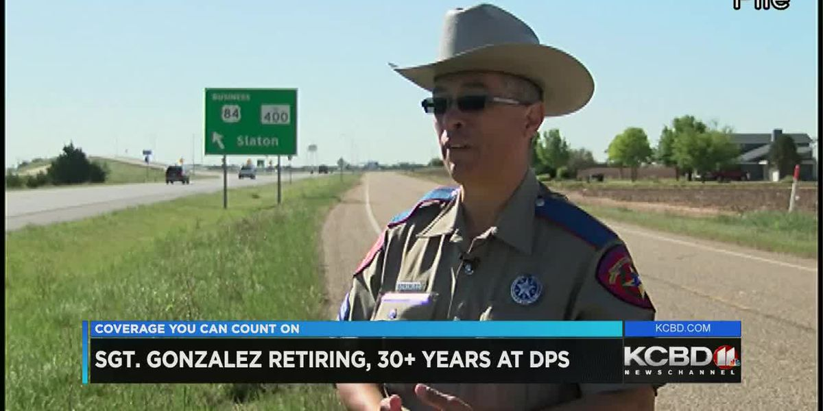 Trooper John Gonzalez retiring after more than 30 years 5 p.m.