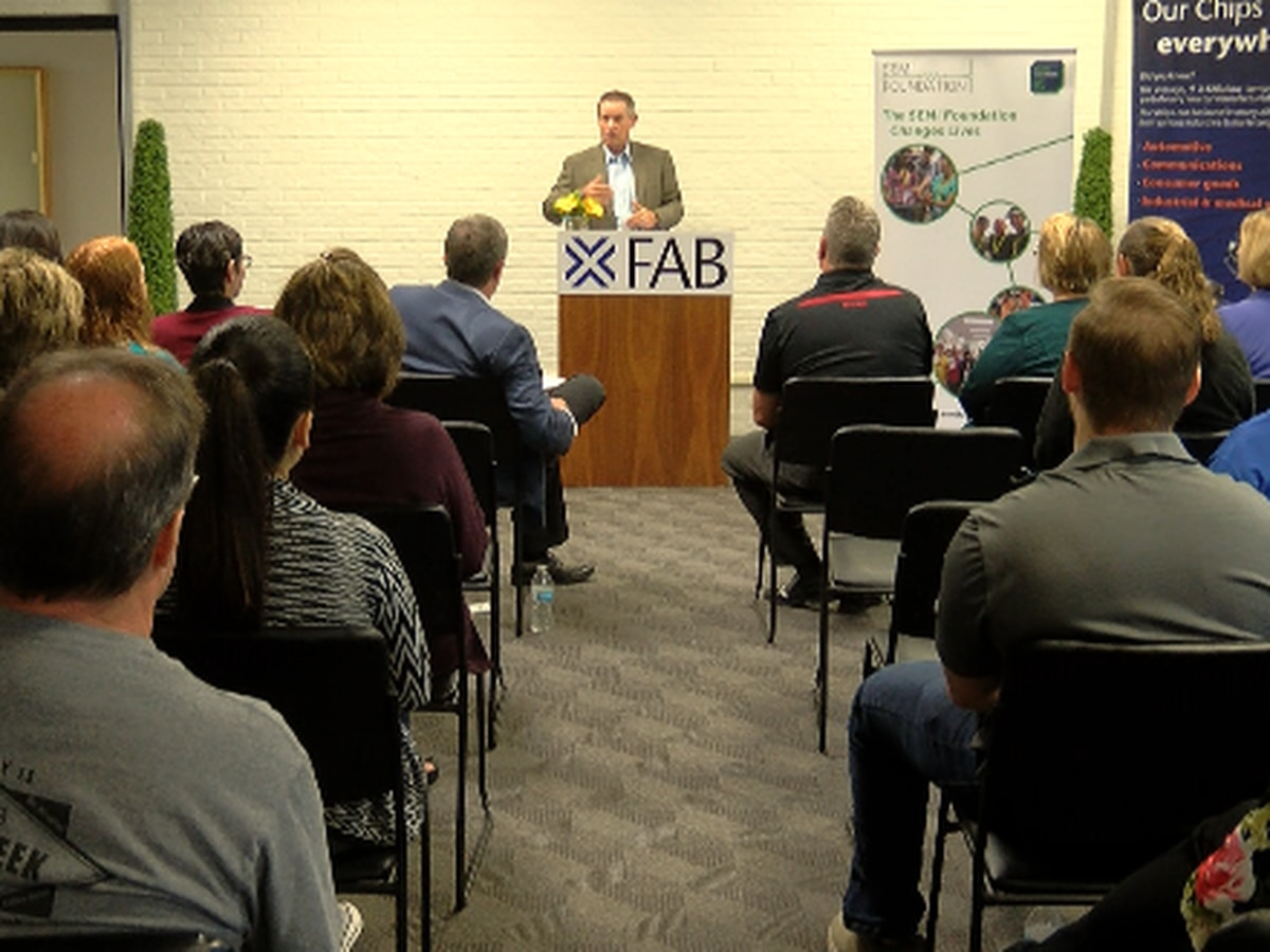 X-FAB partners with STEM program for high school students