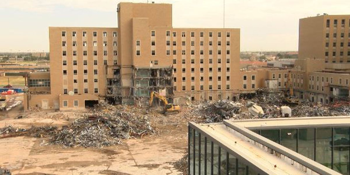 Covenant Health recycling 94 percent of material from demolition