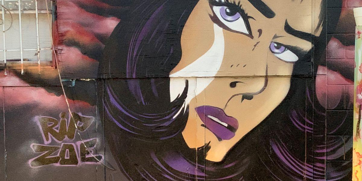Lubbock artist paints mural in memory of Zoe Campos