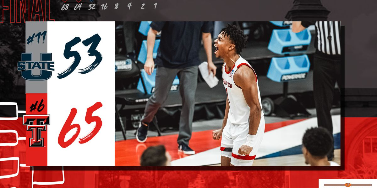 Texas Tech advances to Round of 32 with 65-53 win over Utah State