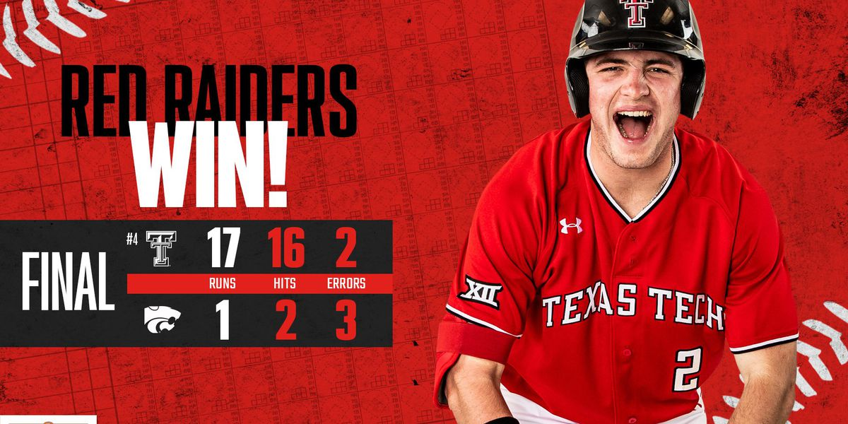 #4 Red Raiders roll in opener with Kansas State