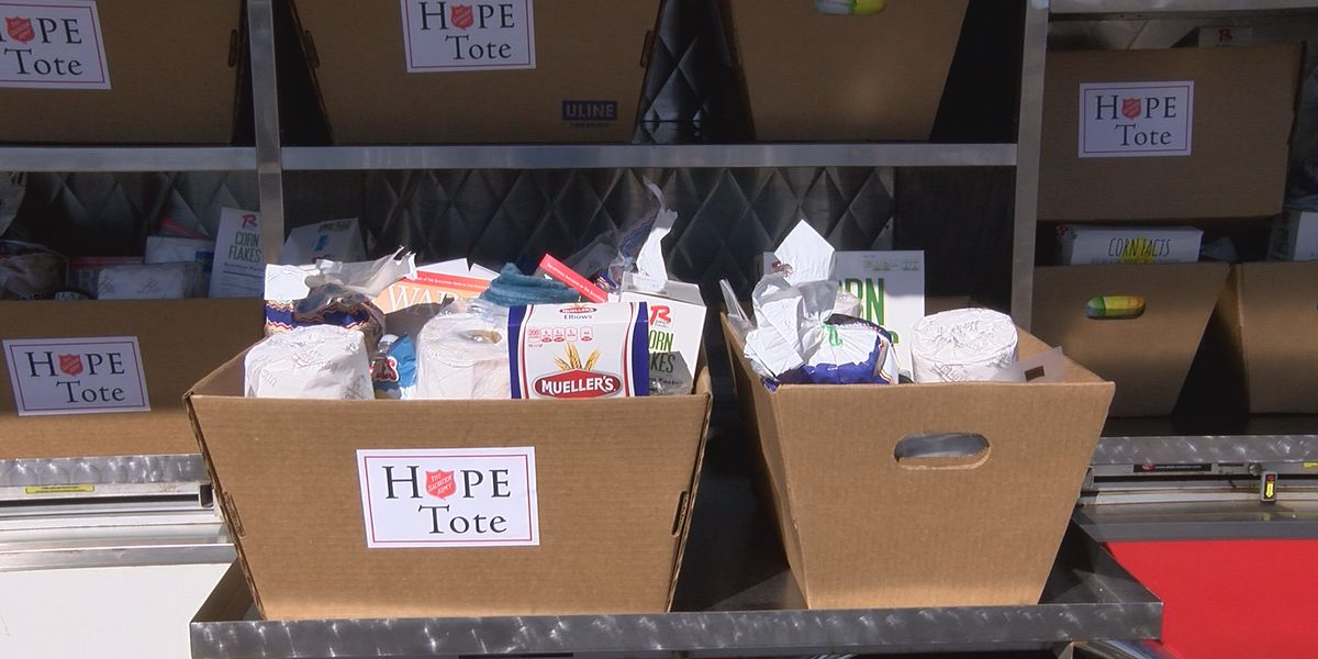 Salvation Army to extend Hope Tote initiative to surrounding counties