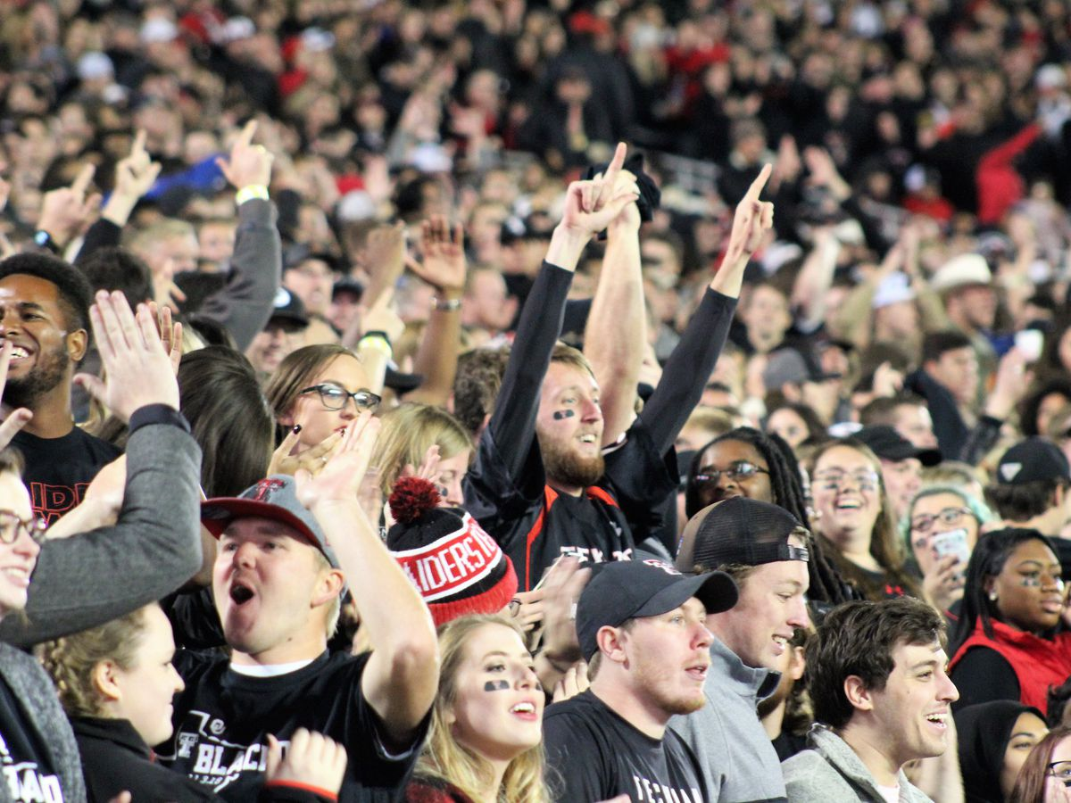 Texas Tech game against Longhorns sold out
