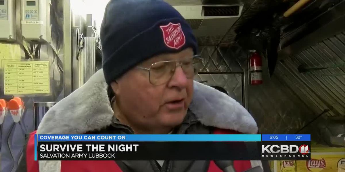 Salvation Army sending out homeless canteen