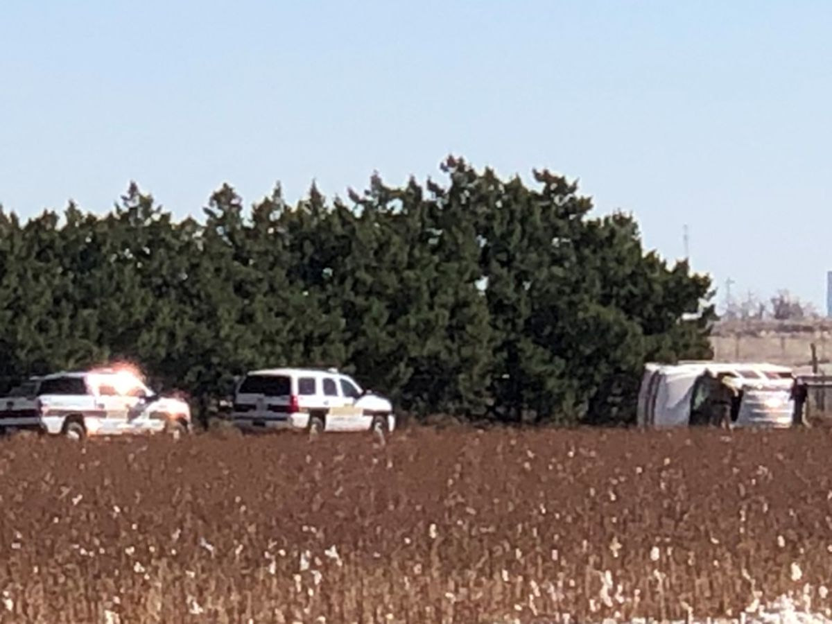 Lubbock Sheriff's office involved in pursuit and crash in North Lubbock