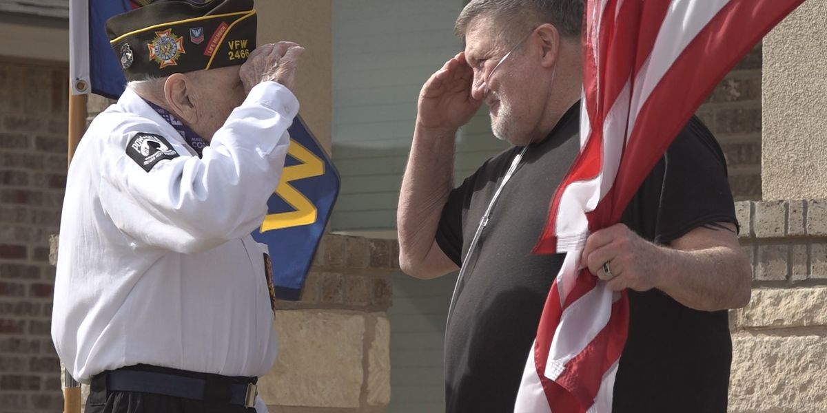 Lubbock's Veterans of Foreign Wars honors new member in special ceremony