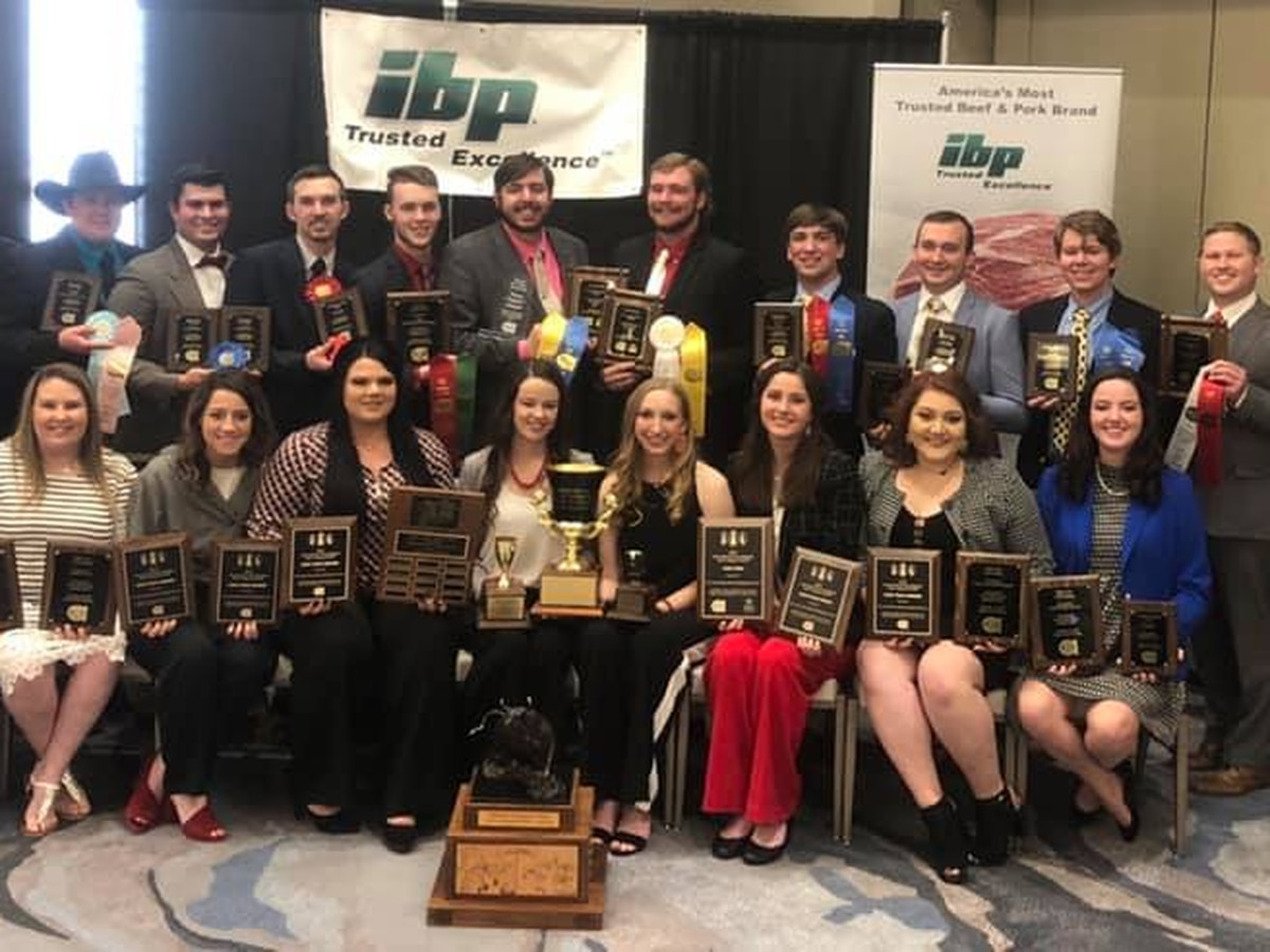 Texas Tech Meat Judging wins National Championship