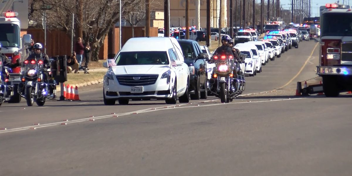 WATCH: Funeral, procession for LPD Officer Nicholas Reyna
