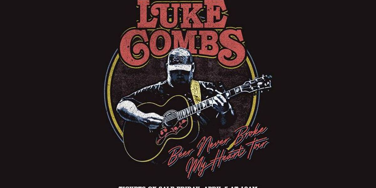 Luke Combs to make Lubbock stop in December