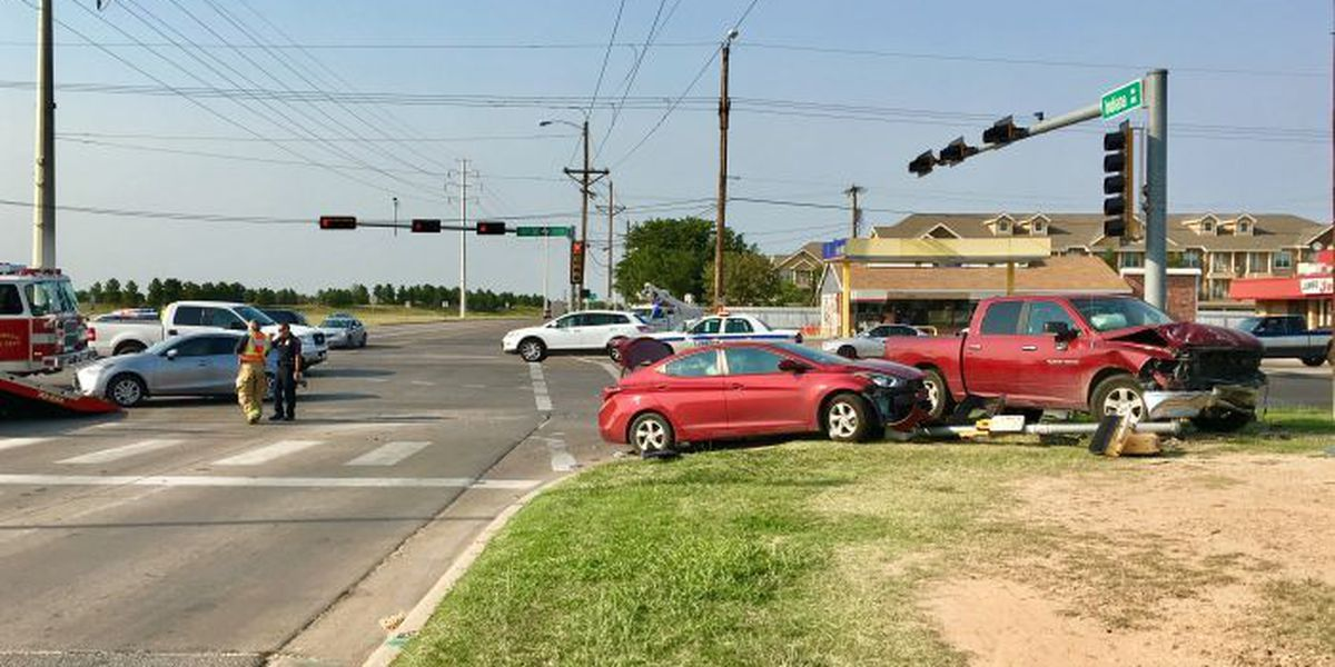 TRAFFIC ALERT: Multi-car accident at 4th & Indiana