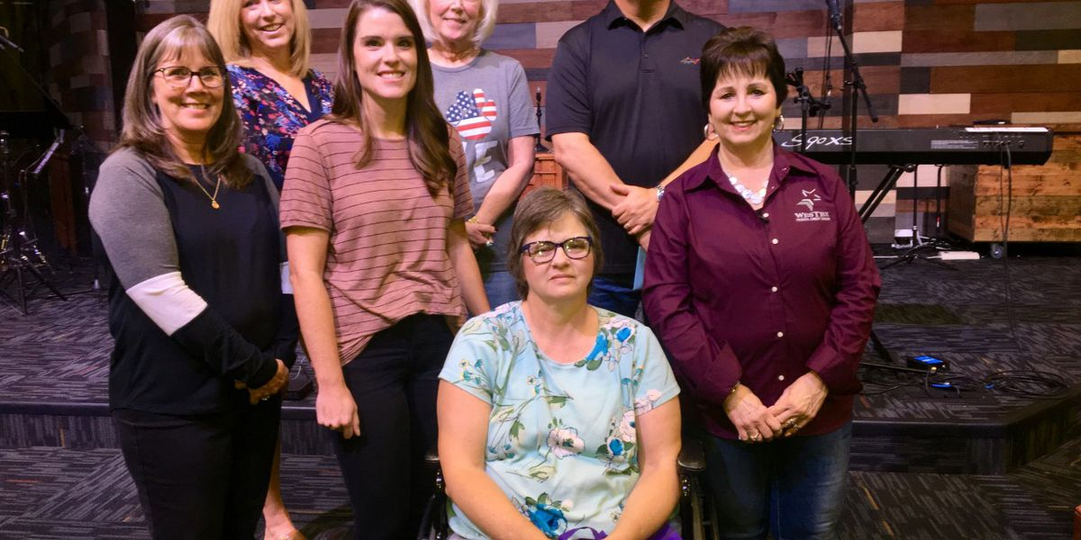 Pay It Forward: Purple bag donation for Wolfforth's First United Methodist Church