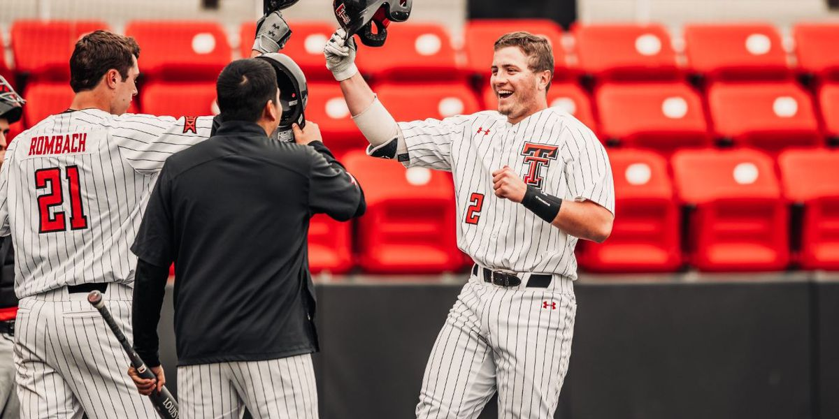 No. 2 Red Raiders sweep UNLV